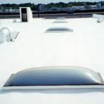 flat roof sealed